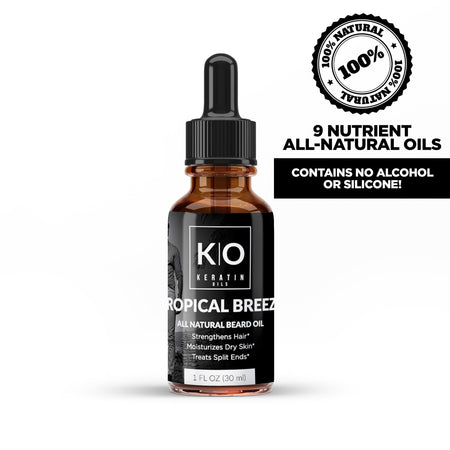 Beard Growth Oil By Keratin Oils - KO Beards