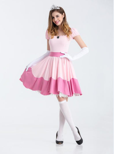 Deluxe Adult Princess Peach Costume