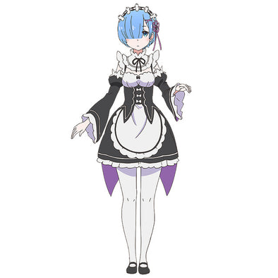 Apron Dress Outfit Uniform Anime Cosplay