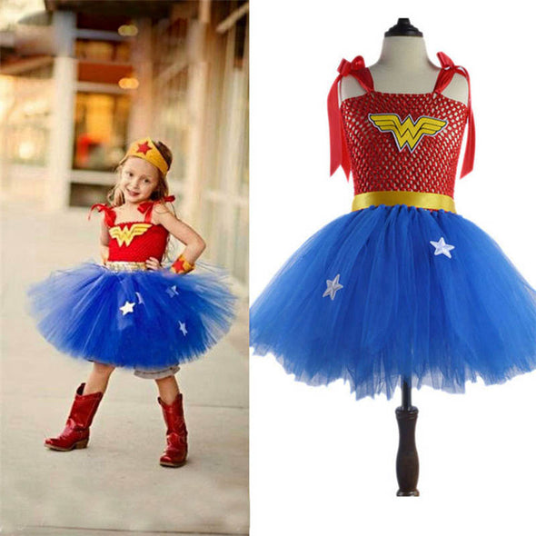 Superhero Costumes For Girls Kids