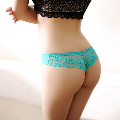 2018 Women Underwear Solid Sexy Lingerie Panties for Women String Thongs Seamless G-String Briefs