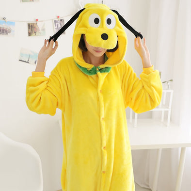 Goofy Dog Cosplay Costume Sleepwear