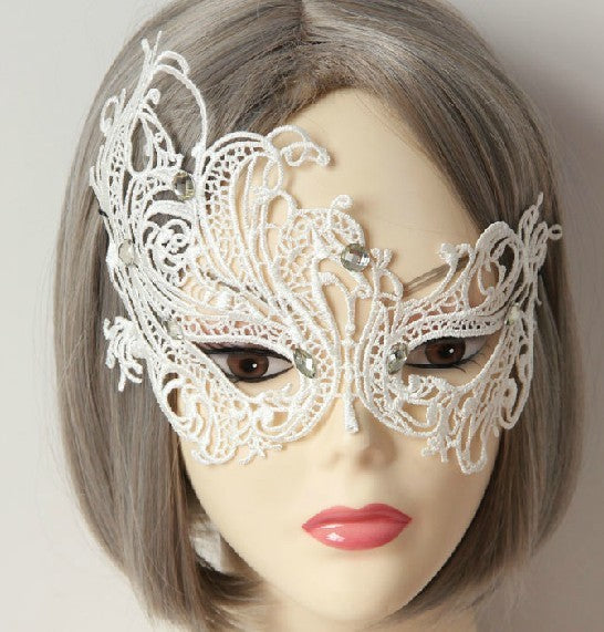 Princess Gothic Lolita  Half Face Masks