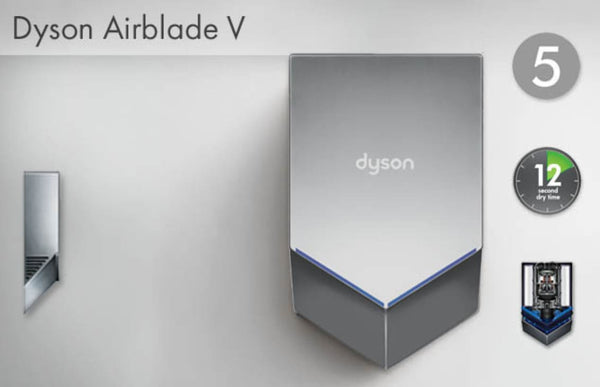 3 Reasons to Buy a Dyson Airblade V Hand Dryer