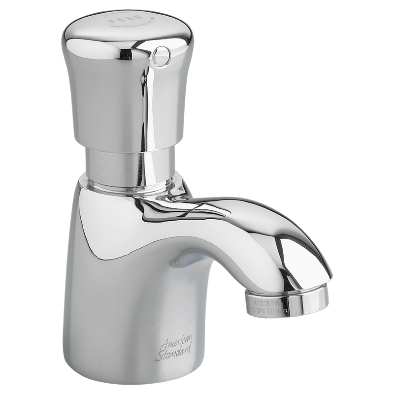 Specialty Product Hardware Ltd. American Standard - Pillar Tap Metering Faucet with Extended Spout -1.0 gpm