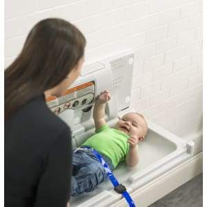Foundations 100-EH-BP Horizontal Surface Mount (EZ Mount™ backer plate included) Baby Changing Station - Specialty Product Hardware Ltd.