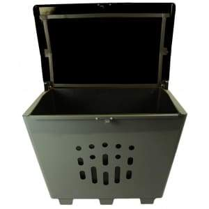 Specialty Product Hardware Ltd. Frost 2000-Black - Salt/Sand/Storage Bin