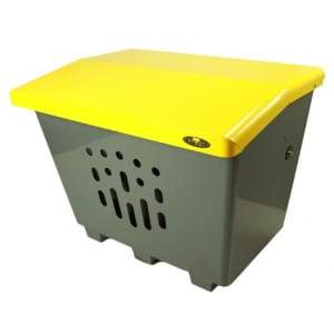 Specialty Product Hardware Ltd. Frost 2000-Yellow - Salt/Sand/Storage Bin