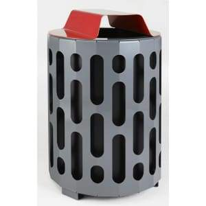 Specialty Product Hardware Ltd. Frost 2020-Red – Stingray Waste Receptacle