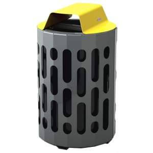 Specialty Product Hardware Ltd. Frost 2020-Yellow – Stingray Waste Receptacle