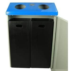 Specialty Product hardware ltd. Frost 315 Recycling Station - Blue/Grey
