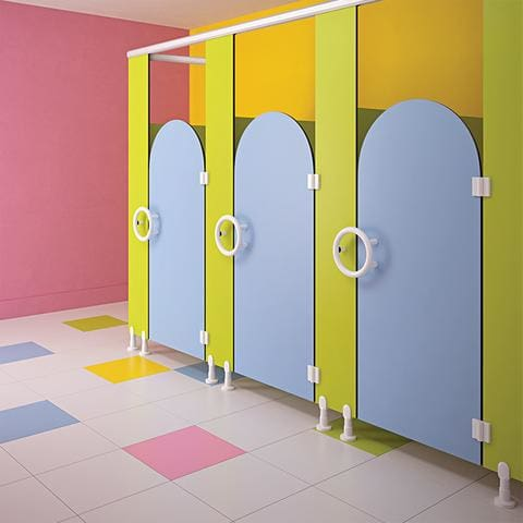 Alpaco Kids Collection Toilet Partitions