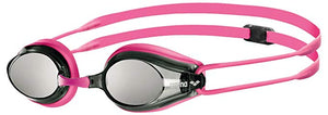 Arena Tracks Mirrored Goggles (fuchsia)
