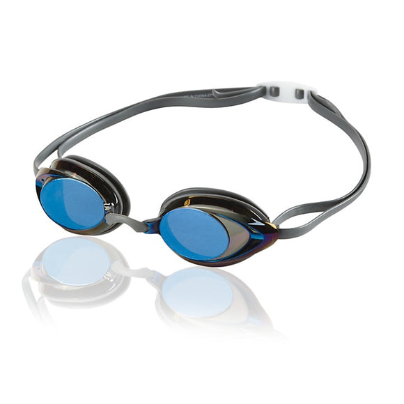 Speedo Vanquisher 2.0 Mirrored Goggles (black blue)