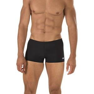 Solid Jammer Square Leg - Speedo Endurance+ (Black)