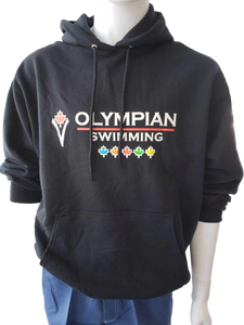 Adult Olympian Swimming Hoodies (Black)