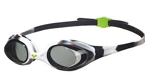 Arena Spider Junior Goggles (black) - Olym's Swim Shop