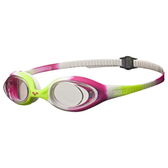 Arena Spider Junior Goggles (lime) - Olym's Swim Shop