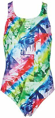 Arena Girls Cross Racerback One-Piece (multicolour) - Olym's Swim Shop