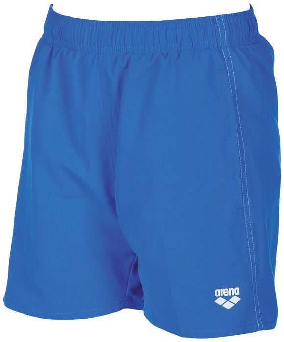 Arena Boys Solid Trunks Junior (blue) - Olym's Swim Shop