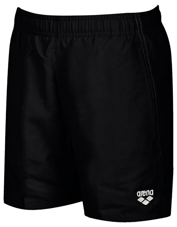 Arena Boys Solid Trunks Junior (black) - Olym's Swim Shop