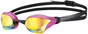 Arena Cobra Core Mirrored Goggles (pink) - Olym's Swim Shop