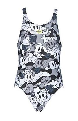 Arena Girls Swim Tech Suit (Grey camo) - Olym's Swim Shop
