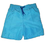 Swim-Style Boys Solid Trunks (royal)