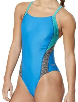 Speedo Relaunch Splice Flyback - ProLT (blue/green) - Olym's Swim Shop