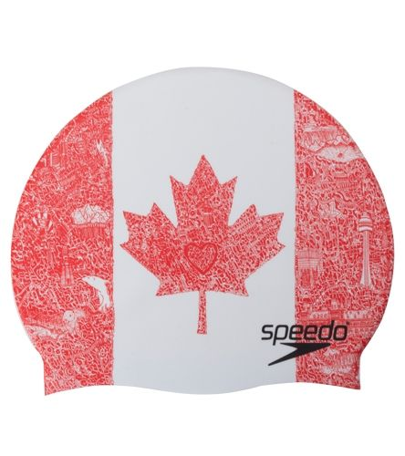 Speedo Elastomeric Printed Cap