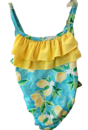 Swim-Style Girl's Small One-Piece - Olym's Swim Shop