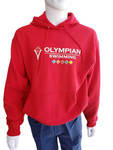 Adult Olympian Swimming Hoodies (RED)
