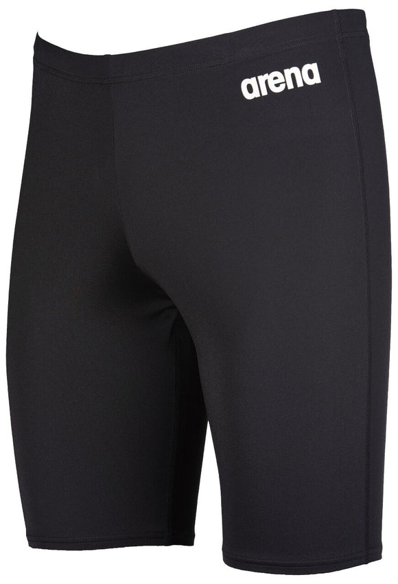 Arena Men Solid Jammer (Black) - Olym's Swim Shop