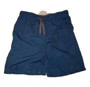Swim-Style Boys Solid Trunks (navy)