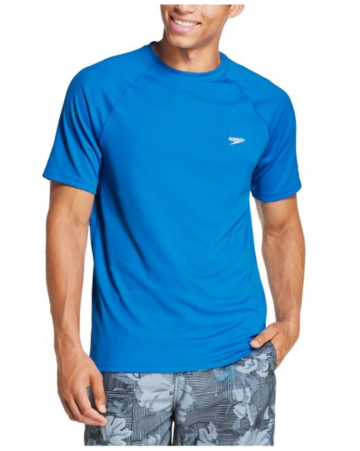 SPEEDO New Easy Short Sleeve Tee Royal Blue