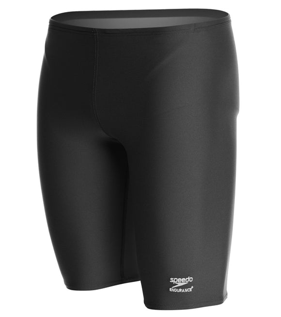 Solid Jammer - Speedo Endurance+ (Black) - Olym's Swim Shop