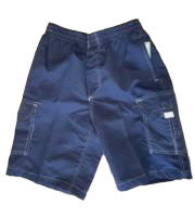 Swim-Style Boys Junior Trunks (navy) - Olym's Swim Shop