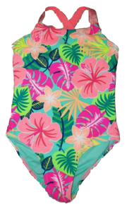 Swim-Style Girls Junior One-Piece