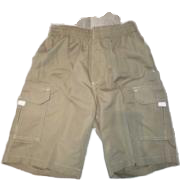 Swim-Style Boys Junior Trunks (beige) - Olym's Swim Shop