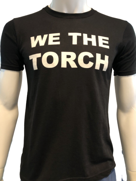 WE THE TORCH T-SHIRT (ROUND NECK ADULT) - Olym's Swim Shop