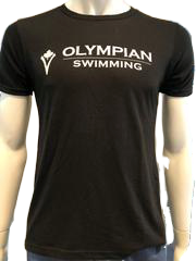 OLYMPIAN SWIMMING ROUND NECK T-SHIRT (ADULT) - Olym's Swim Shop