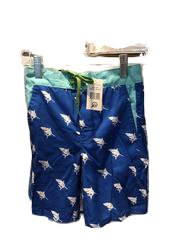 Swim-Style Boys Blue with sharks