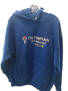 Adult Olympian Swimming Hoodies (Blue)
