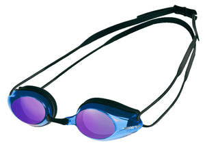 Arena Tracks Mirrored Goggles (black blue)
