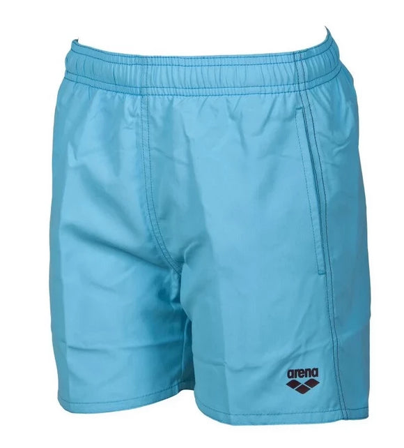 Arena Boys Solid Trunks Junior (turquoise) - Olym's Swim Shop