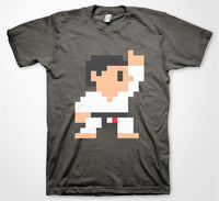8-Bit Black Belt - White Gi