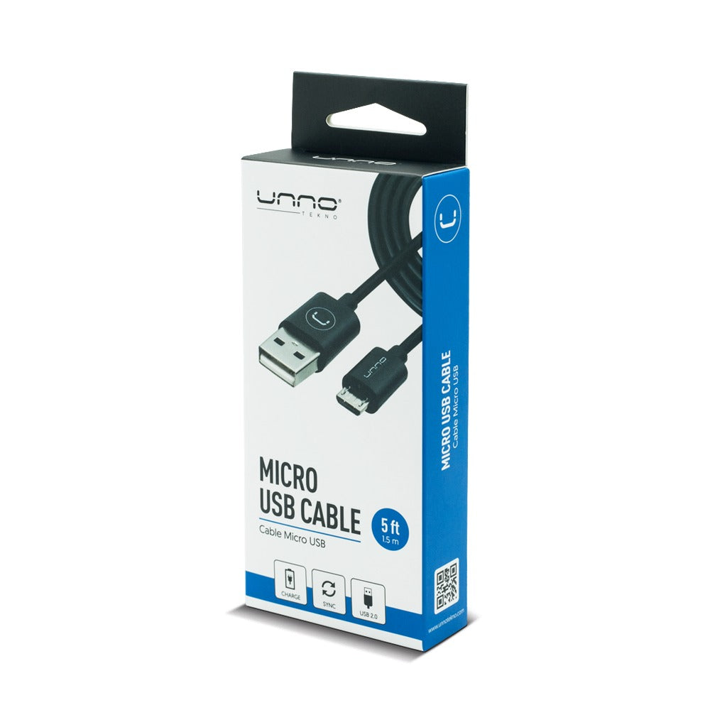 MICRO USB 2.0 CABLE | 5FT<p>CB4051BK</p>