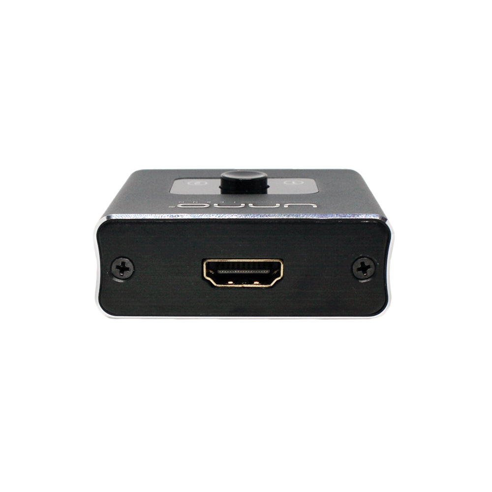 2 PORTS 4K BIDIRECTIONAL HDMI SPLITTER/SWITCH<p>HB1201BK</p>