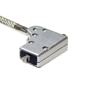 SECURITY LOCK FOR SLIM NOTEBOOKS W/KEY<p>KL6012SV</p>