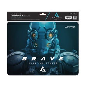 BRAVE LARGE MOUSE PAD FOR GAMING<p>MP6051GN</p>
